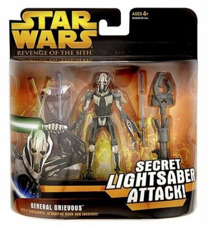 Star Wars E3 Df02 General Grievous Star Wars Galactic Heroes Star Wars Toys Star Wars