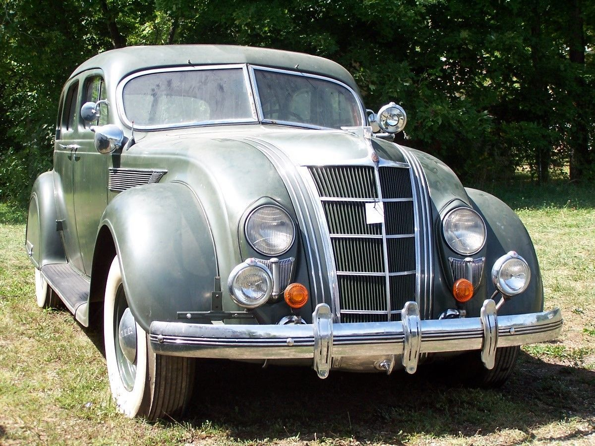 1935 Chrysler Airflow C2 Imperial Four Door Sedan With Images