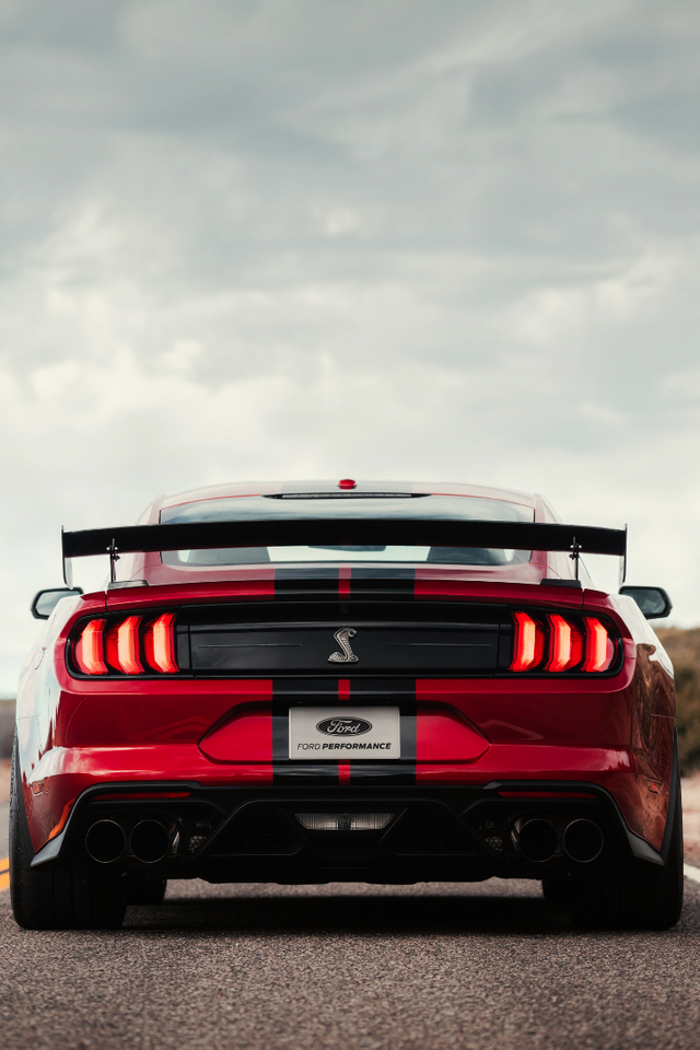 Quad Exhaust 2020 Mustang Shelby Gt500 Carporn In 2020