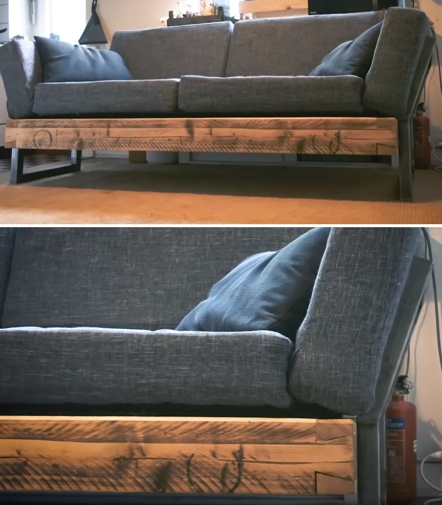19 Easy Ways To Build A Diy Couch Without Breaking The Bank Diy Living Room Furniture Diy Sofa Diy Couch
