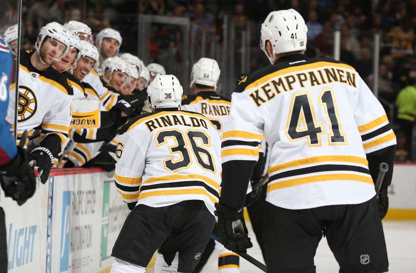 Oct.14 2015 Bruins 6 Avs 2 Bret Connolly 14 and the