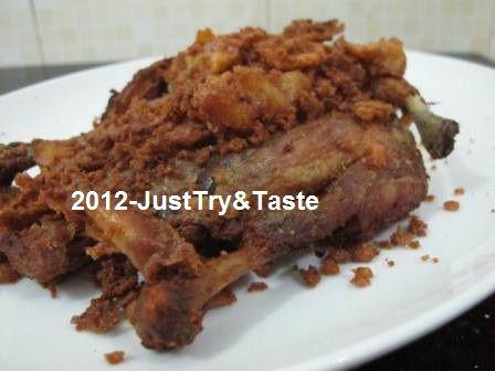 Ayam Goreng Tulang Lunak Andai Anda Bisa Turut Mencicipinya Resep Makanan Ayam Goreng Makanan Enak