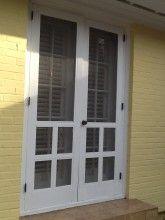 1950 S French Screen Doors French Doors With Screens Screen Door Old Doors