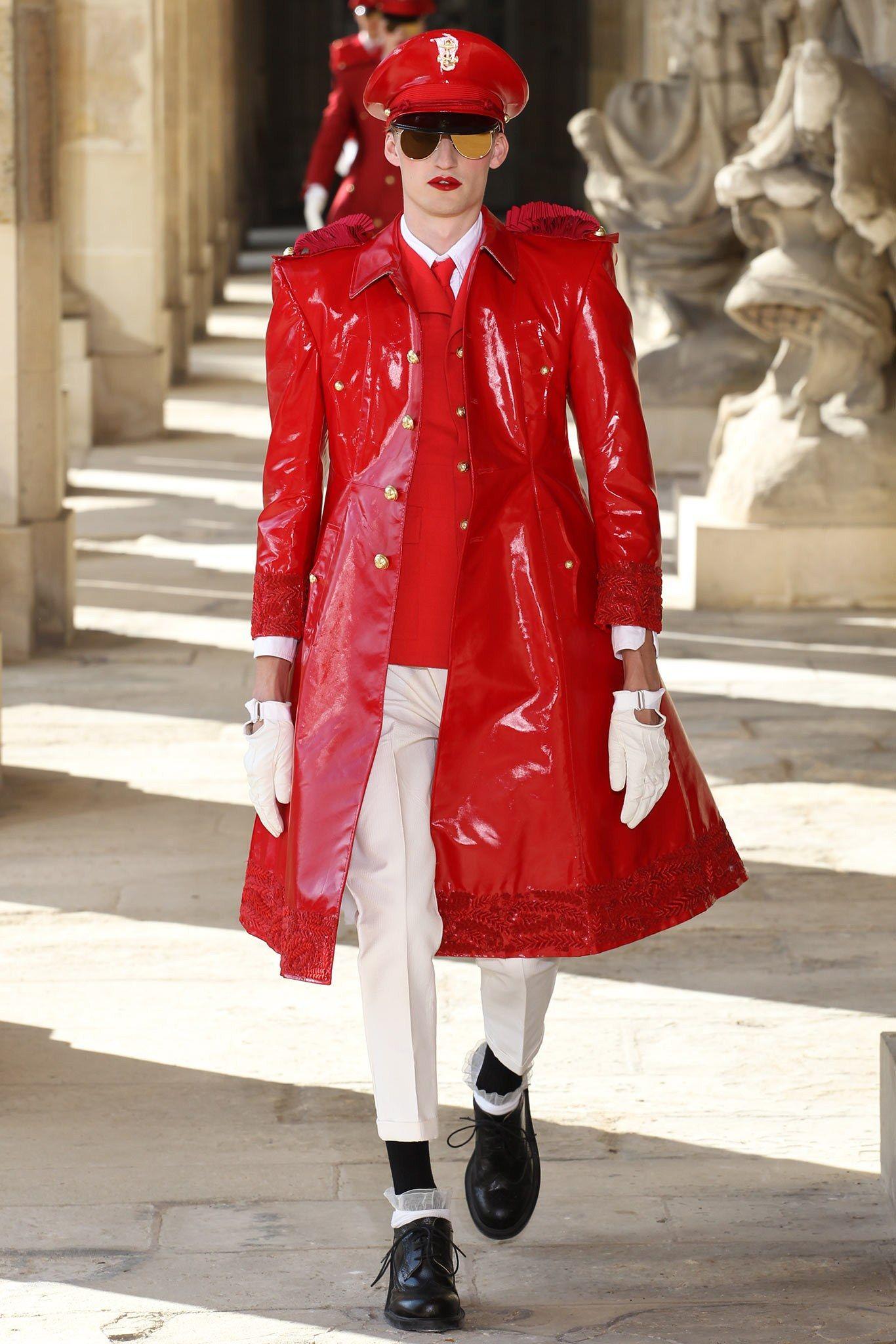 bf1c2d05d3b2 Vogue Paris in English. Thom Browne Spring 2014 Menswear
