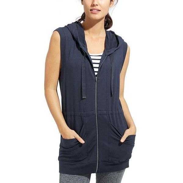 45dc6490bf994 Athleta Women Lotus Vest Size L ( 89) ❤ liked on Polyvore featuring blue en  athleta