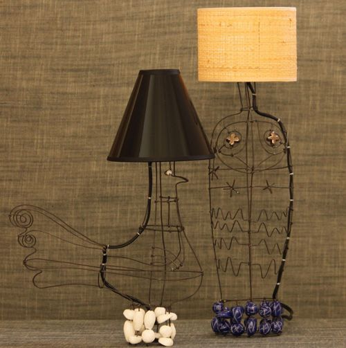 and just a couple more wire l&s - so cool looking & and just a couple more wire lamps - so cool looking | Decorate My ...