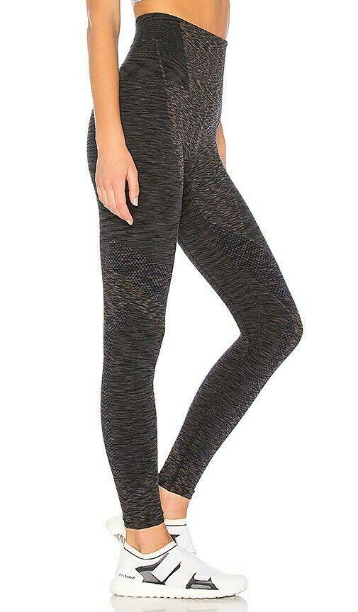 935ee8bfba6f8 LNDR XS/S RESISTANCE dark grey marl leggings high waisted seamless shaping  140 #fashion