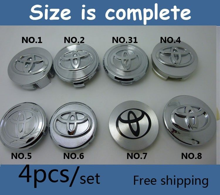 Find More Emblems Information About Car Tuning 4pcs Lot 60mm Chrome Toyota Wheel Center Cap Emblem Badge Fit Replaced Rims W Toyota Wheels Toyota Car Perfume