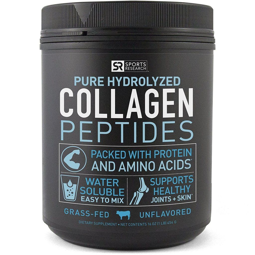 Sports Research Pure Hydrolyzed Collagen Peptides
