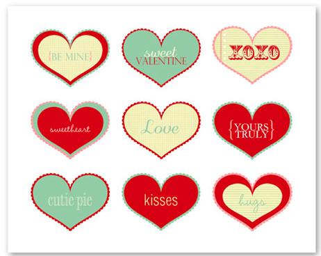 free valentines printables - Free Valentines