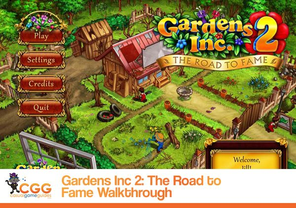 Gardens Inc 2 The Road To Fame Walkthrough From Fame Road Garden