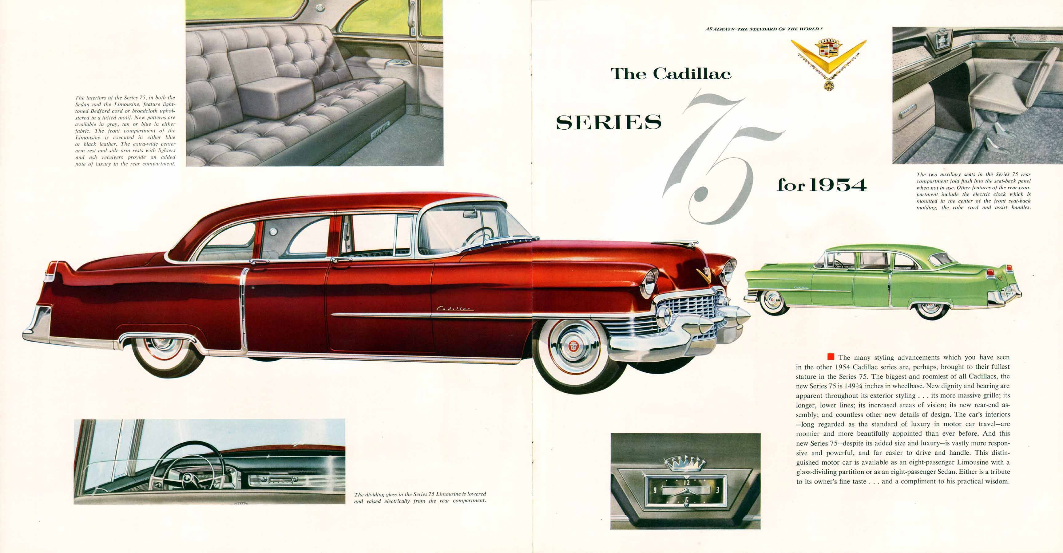 Cadillac Series  Limousine And Sedan  Limousines
