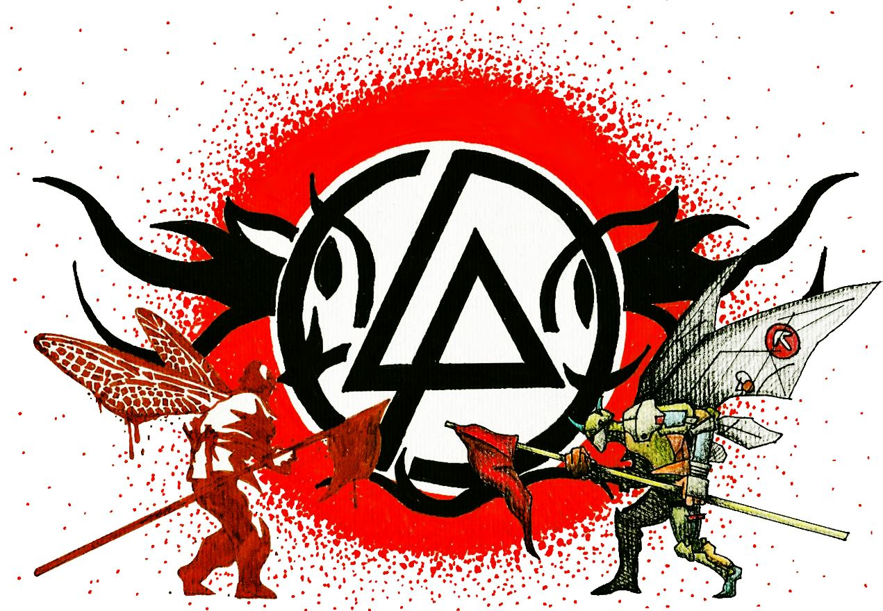 Linkin Park Design Tatto In Pens And Pencils Hybrid Theory