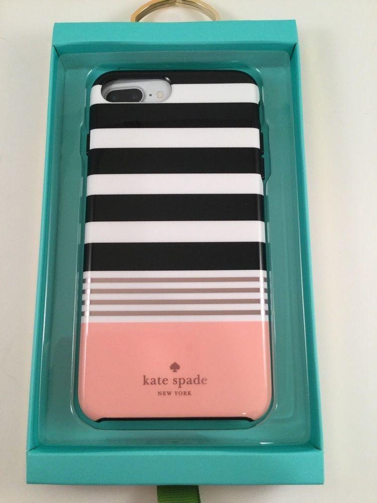 Kate Spade Hardshell Case iPhone 8, 7 Plus Pink, Rose Gold