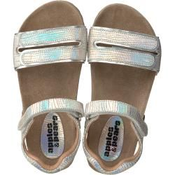 Photo of Apples & Pears Sandals Fanny Silver Girls