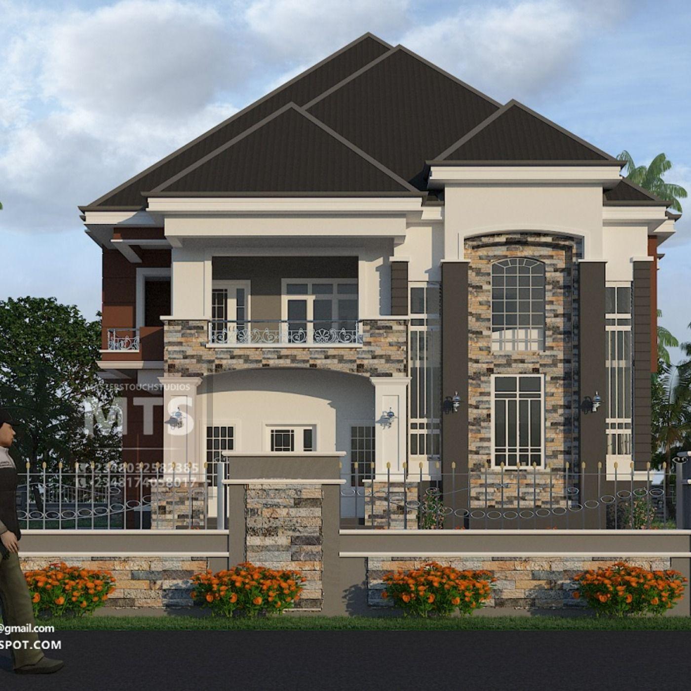 5 Bedroom Duplex Rf D5023 Duplex House Design Duplex Design Bungalow House Design