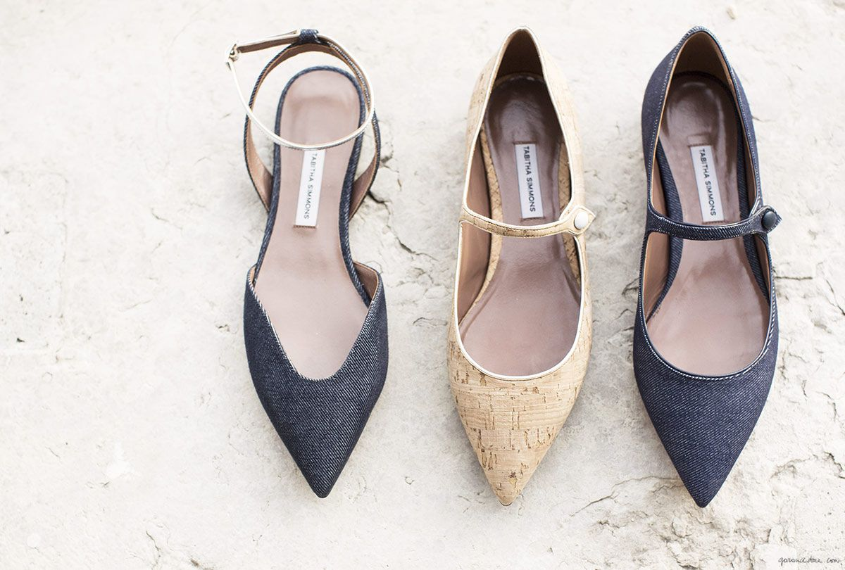 Tabitha Simmons Spring 2015, shoes, flats/Garance Doré