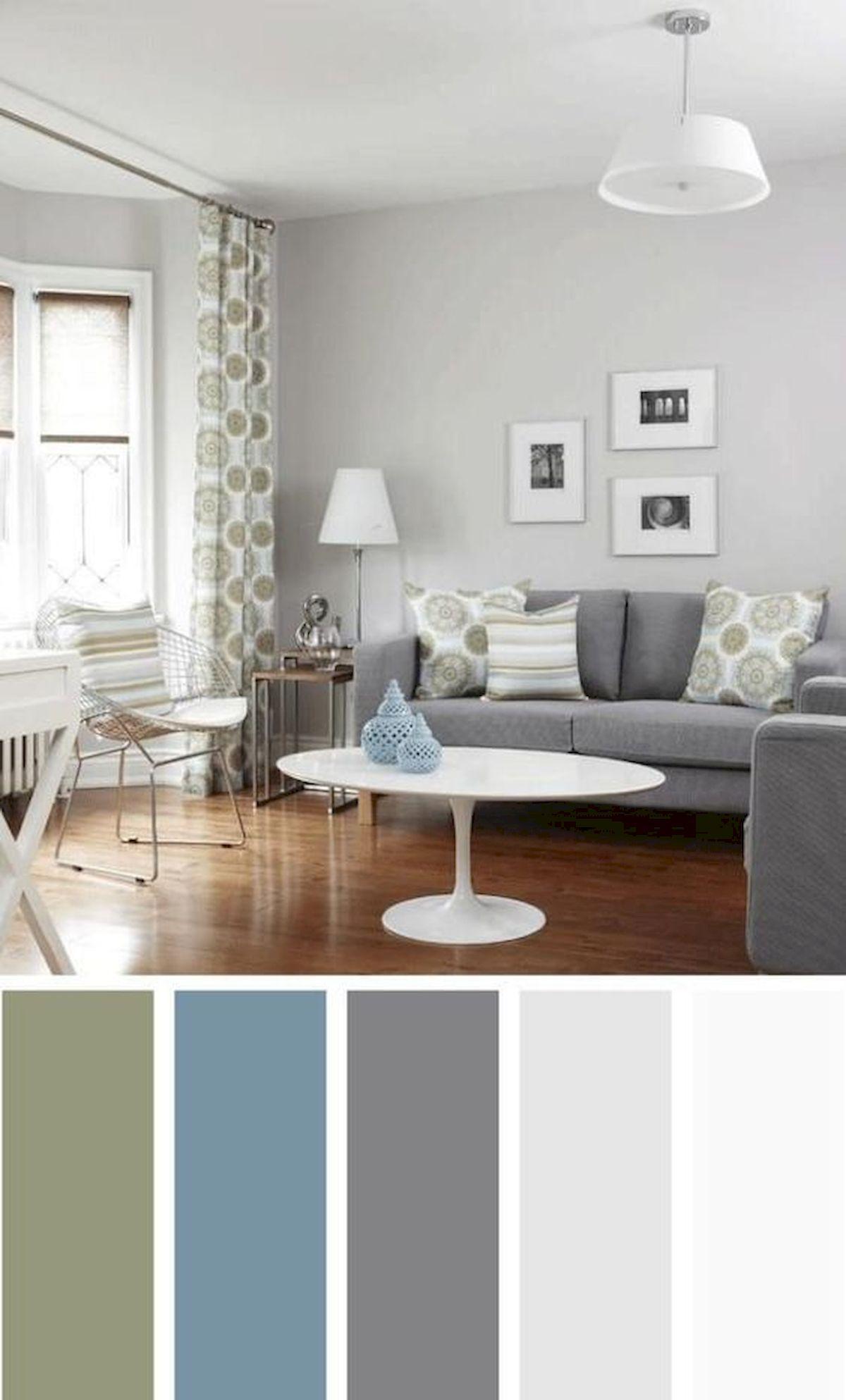 40 gorgeous living room color schemes ideas living room on living room color ideas id=54802