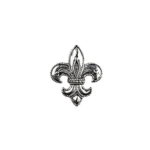 Fleur De Lis Lapel Pin, Tie Tack, Cravat Pin, Wedding Jewelry, Gifts