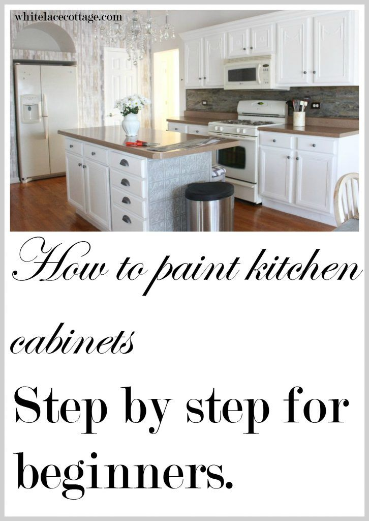 Great article on how to paint kitchen cabinets Pinning this for our