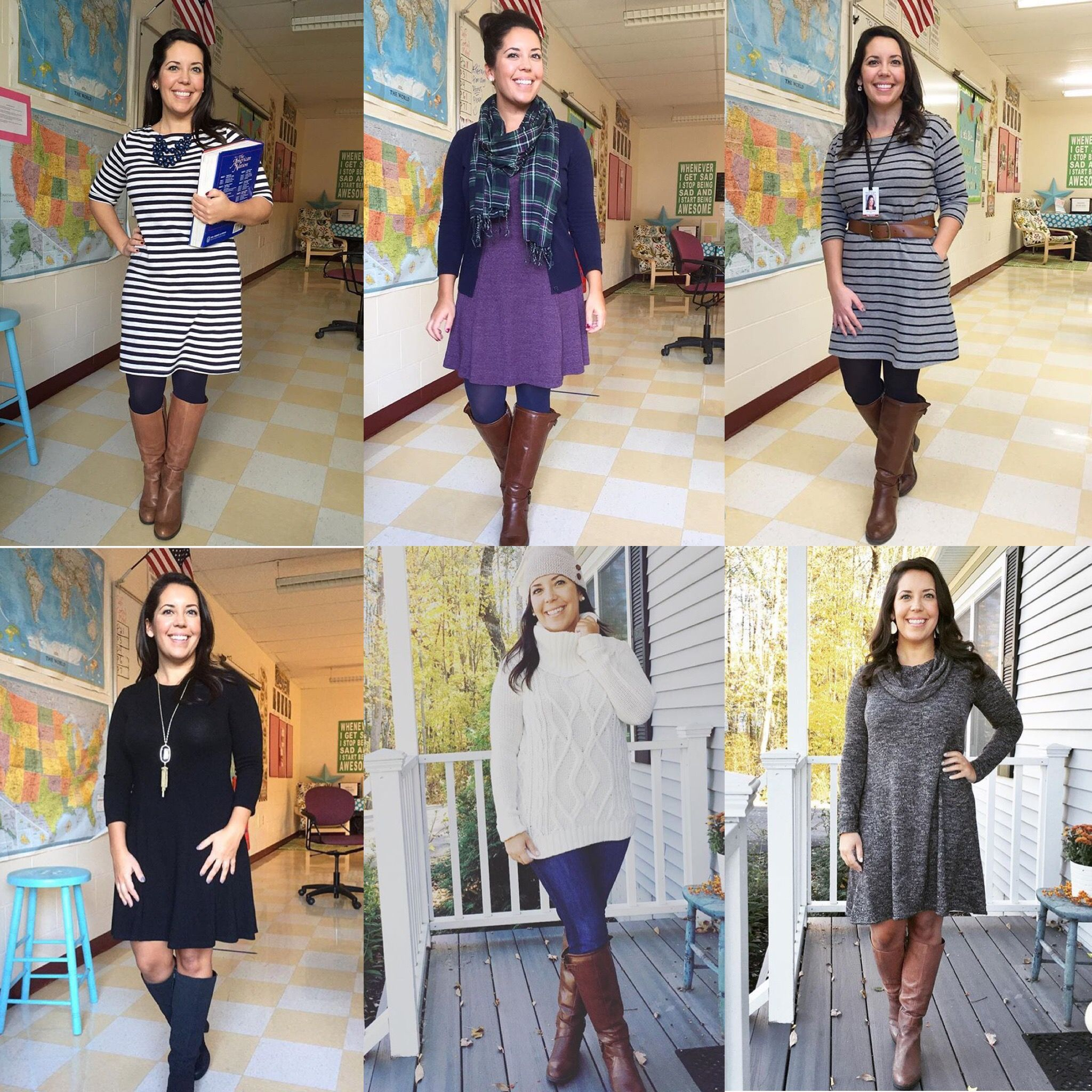 Cold weather teacher outfits  Winter club outfits, Simple winter