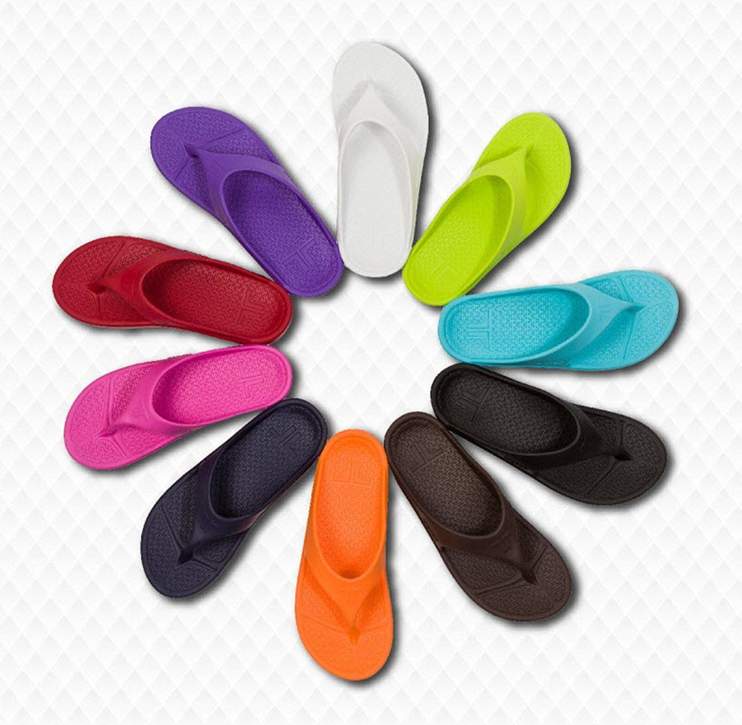 cde159a5276a Telic Unisex VOTED BEST COMFORT SHOE Arch Support Recovery Flipflop Sandal  BONUS Pumice Stone  45 Value