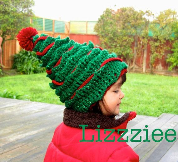 Oh Christmas Tree Crochet Hat Pattern Pdf File Instructions To