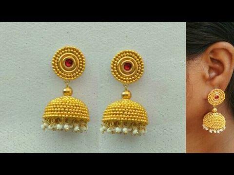 How To Make Designer Earrings How To Make Paper Earrings Paper