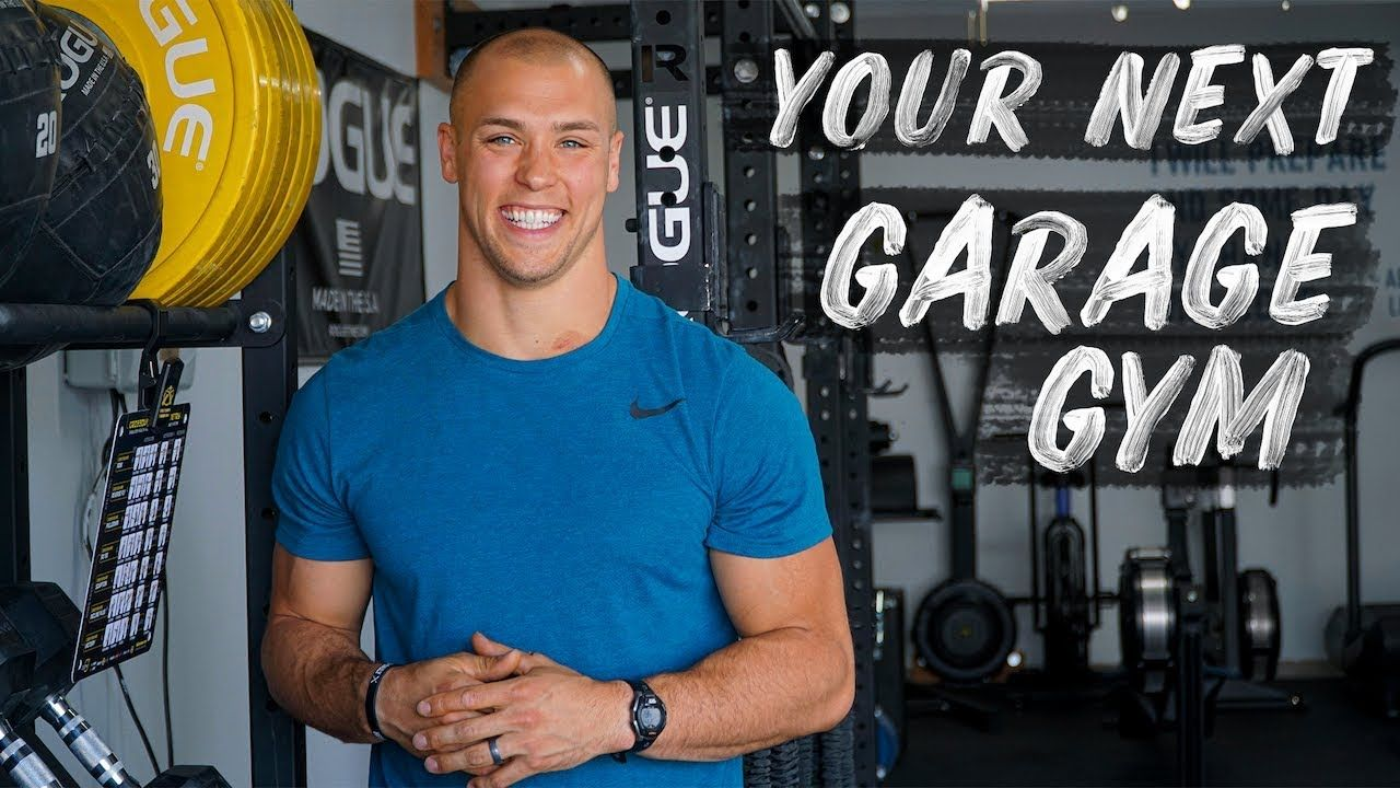 Build An Epic Garage Gym Cole Sager Youtube Garage Gym Building A Garage Dream Home Gym