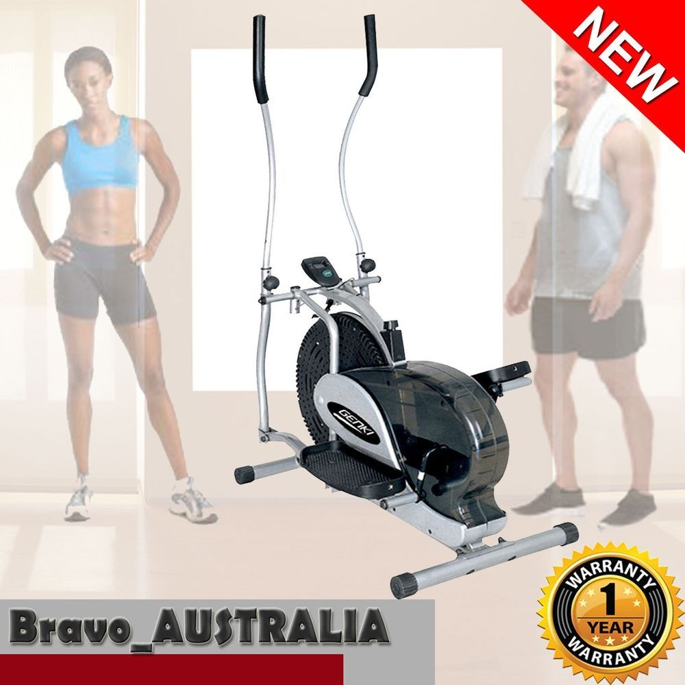 New Elliptical Cross Trainer Exercise Bike Machine Home Gym