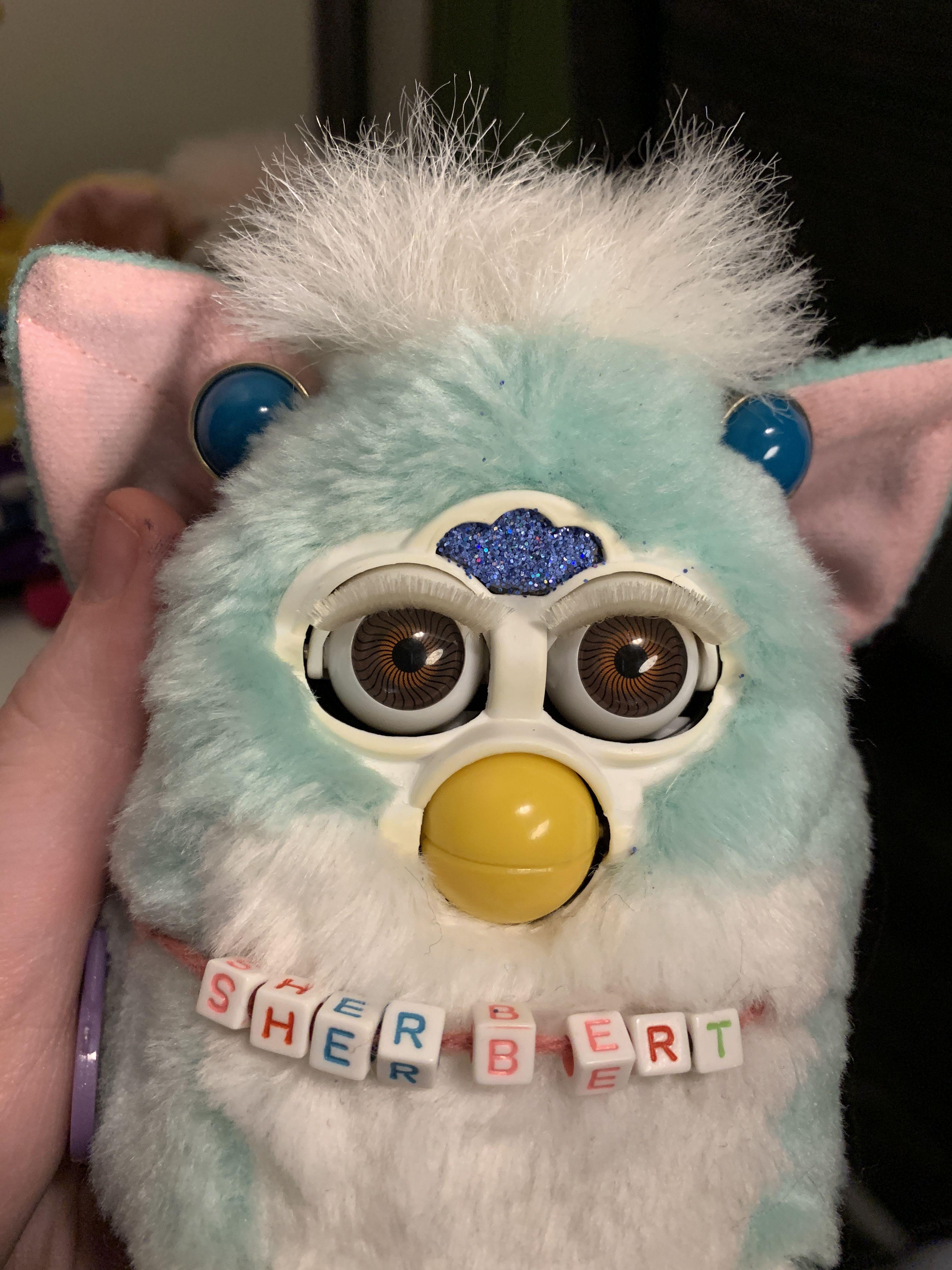 Mint Furby Baby Custom Furby Furby Boom Childhood Toys