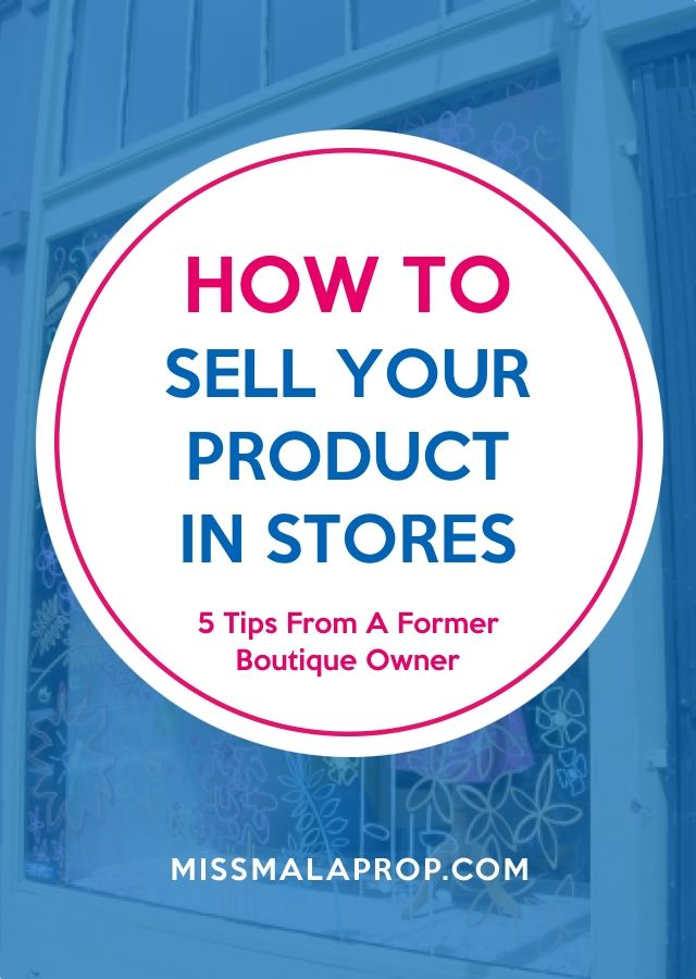 Make $ From Your Handmade Art! How To Sell Your Product In Stores #craftstosell