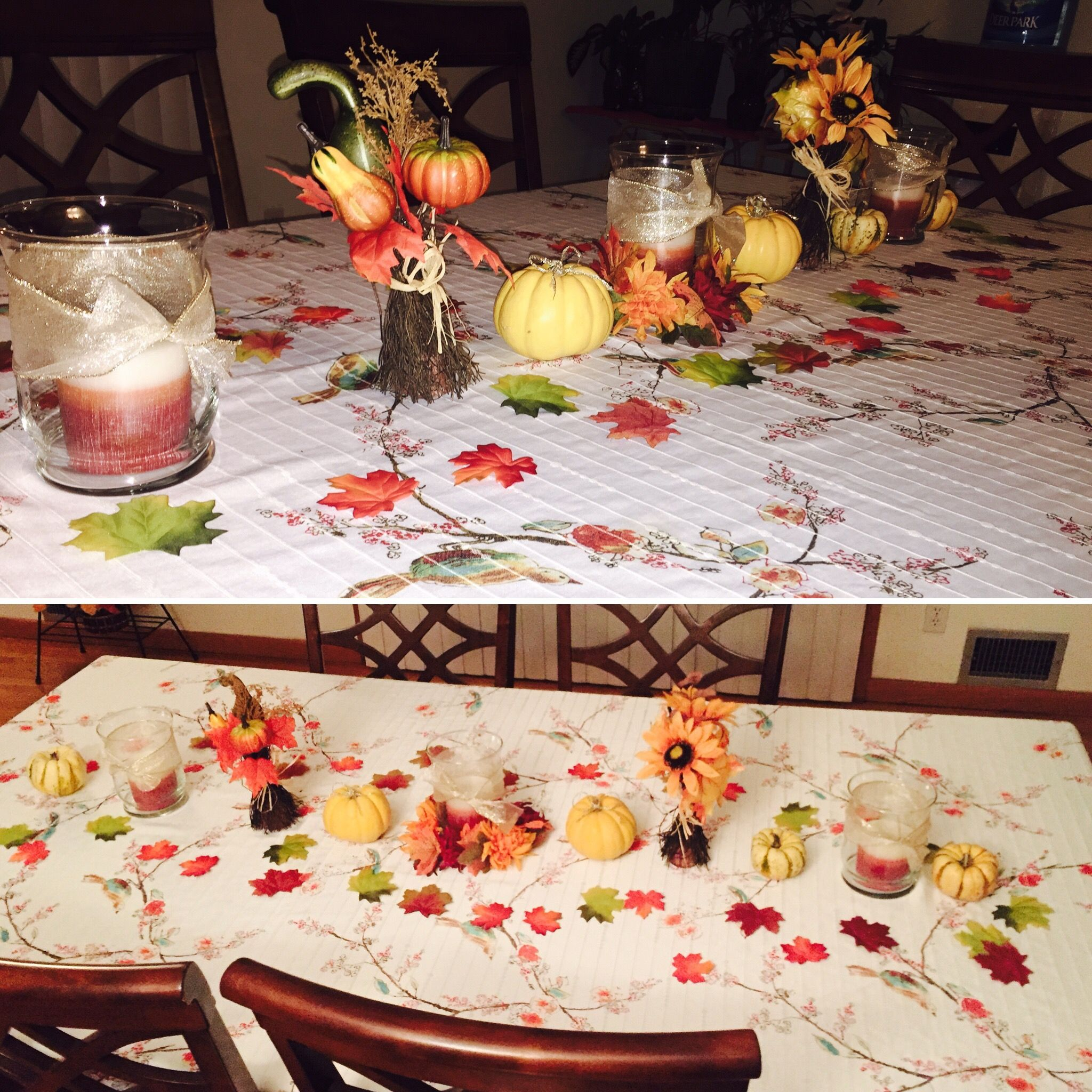 thanksgiving table decorations fake leaves rite aid when they were 75 off