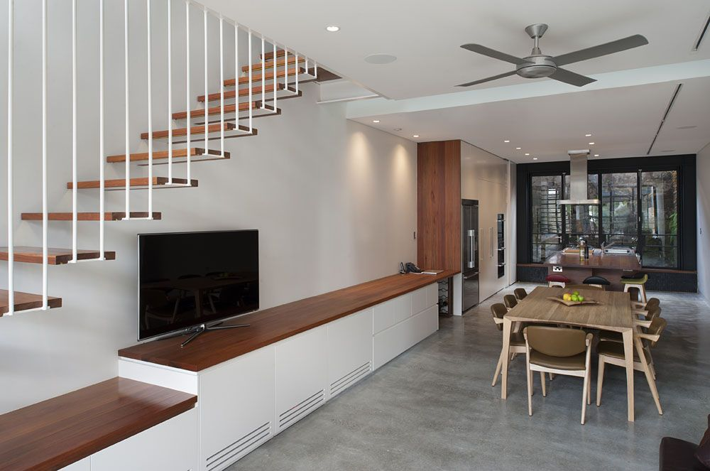 Rozelle Terrace House By Carter Williamson Architects Small