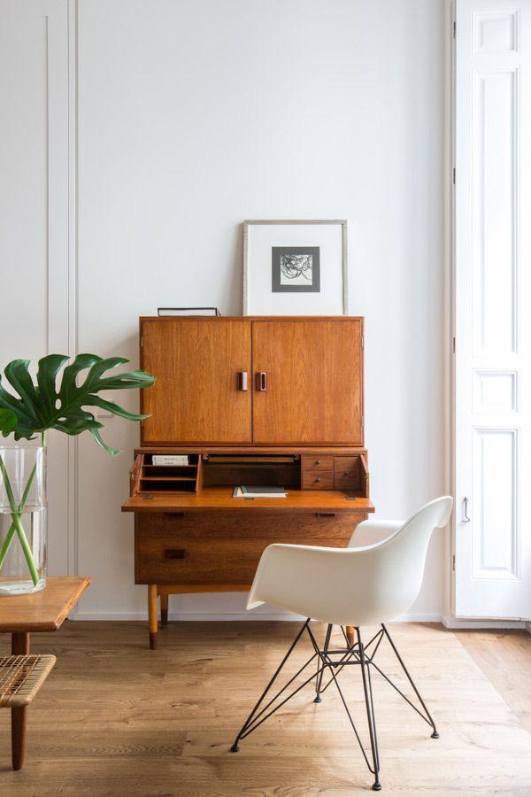 10 jolies inspirations vintage pour dcorer son bureau Eames
