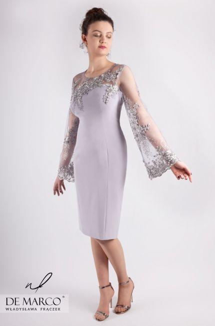 De Marco Sklep Internetowy Z Ekskluzywna Odzieza Damska Eleganckie Sukienki Na Wesele Dla Mamy Biznesowe Wieczorowe Koktajlo Dresses Fashion Formal Dresses