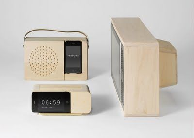 Marvelous Clever Wood IPad And IPhone Docks   Want. | Jonas Damon. Alarm Clock Dock Ideas