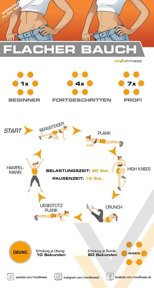 Klicke aufs Bild und mache jetzt sofort kostenlos ein live Workout in deinem Wohnzimmer. Trainiere mit deinem eigenen Körpergewicht zu Hause und forme deinen Körper und speziell Bauch Beine Po. #workout