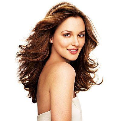 In Style Hair Leighton Meester  Boofy Breezy Beautiful Hairspiration