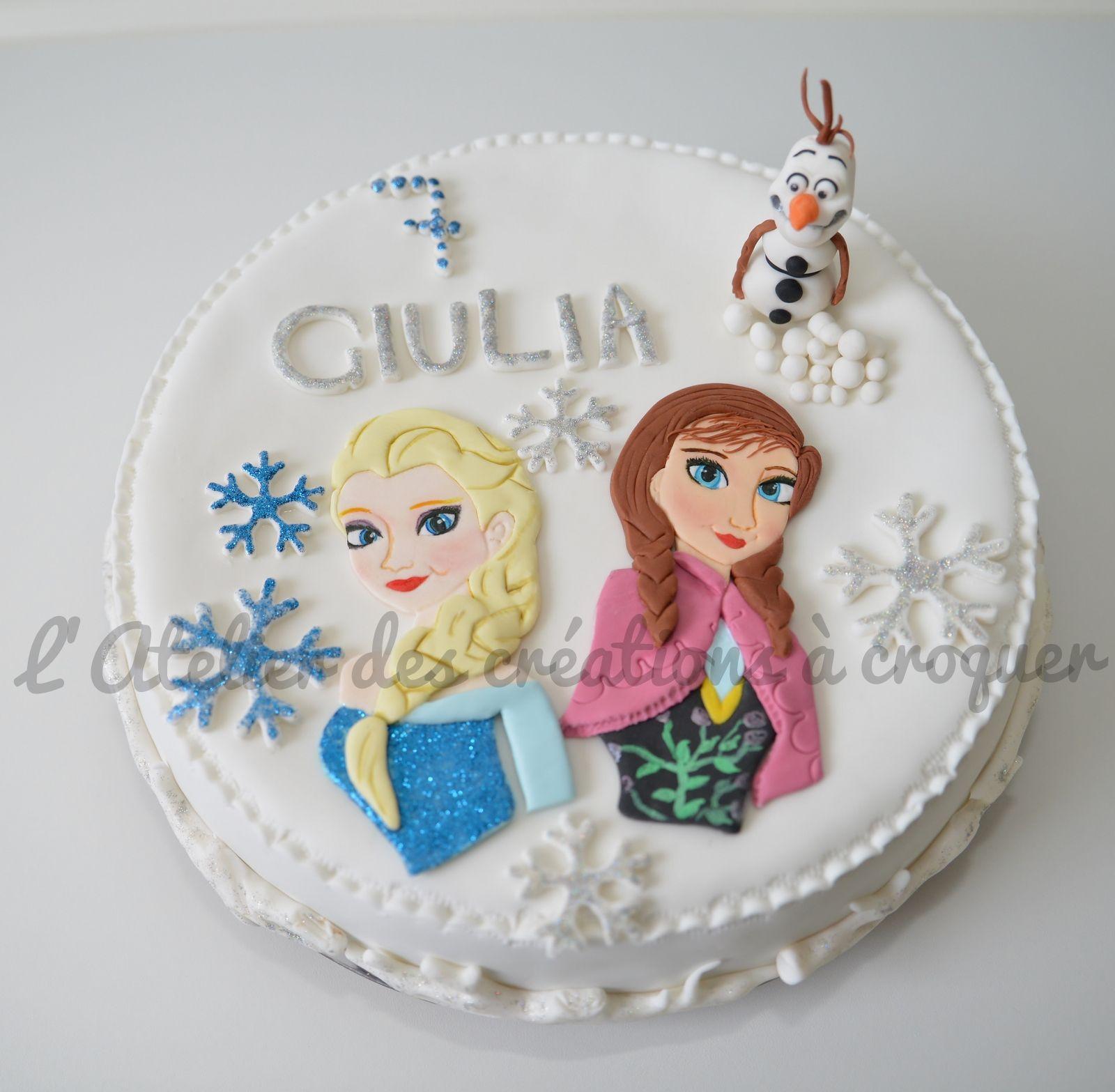 La reine des neiges gateaux pinterest - Gateau la reine des neiges ...
