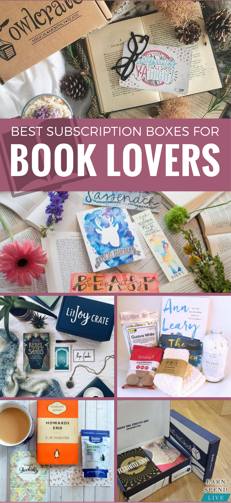 The Best Subscription Boxes for Book Lovers Book