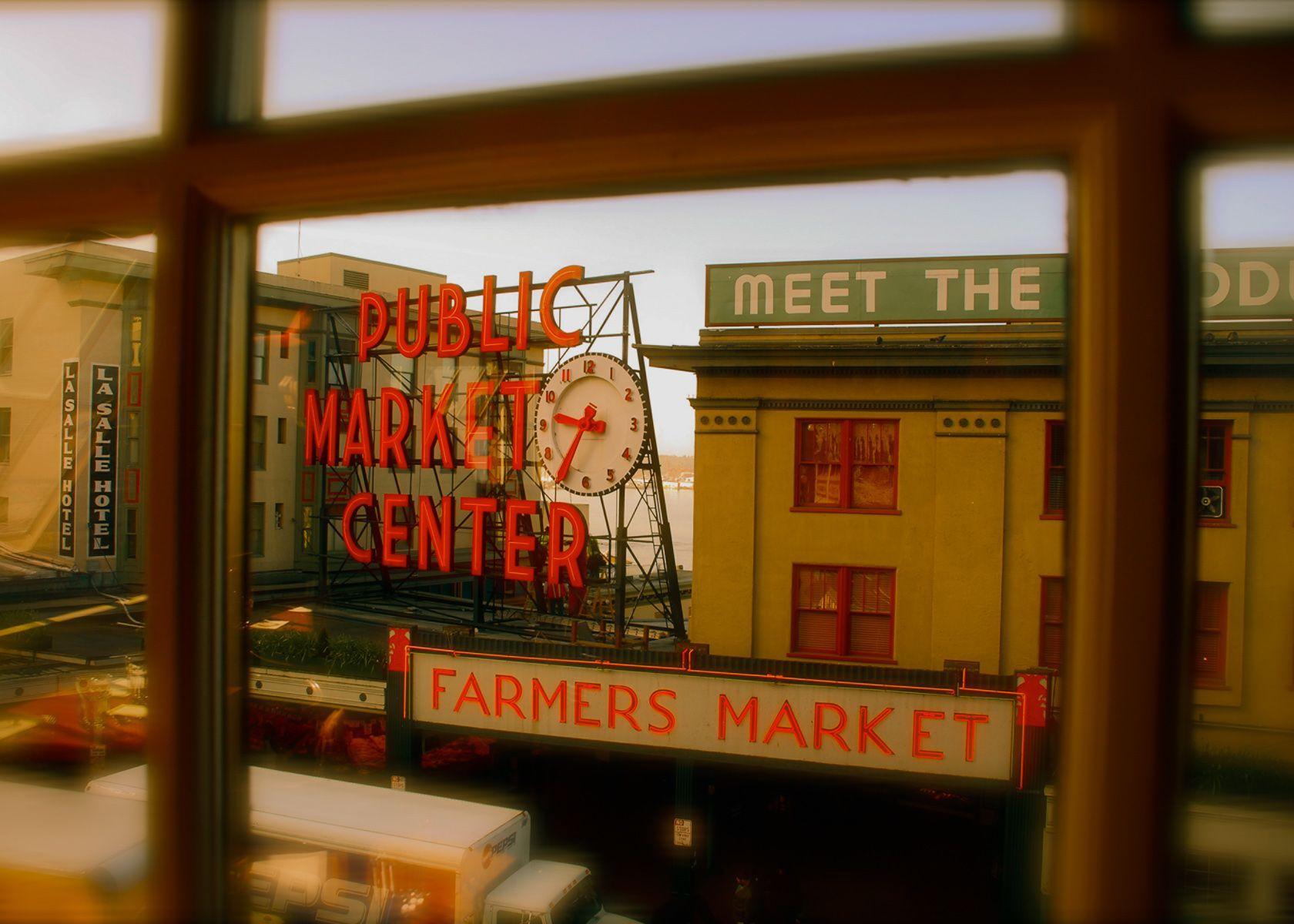404 Error Seattle Pike place