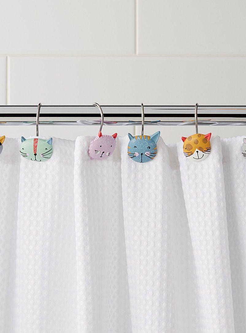 Double Shower Curtain Hooks Set Of 12 Shower Curtain Hooks Shower Curtains