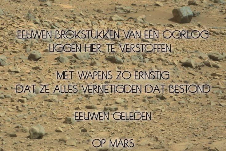 Mars, de waarschuwing voor ons allen