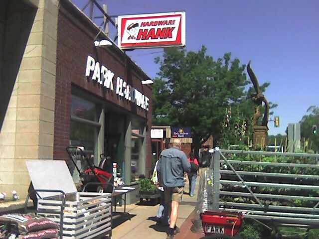 Our store prior to 2005 in its previous life as a Hardware Store