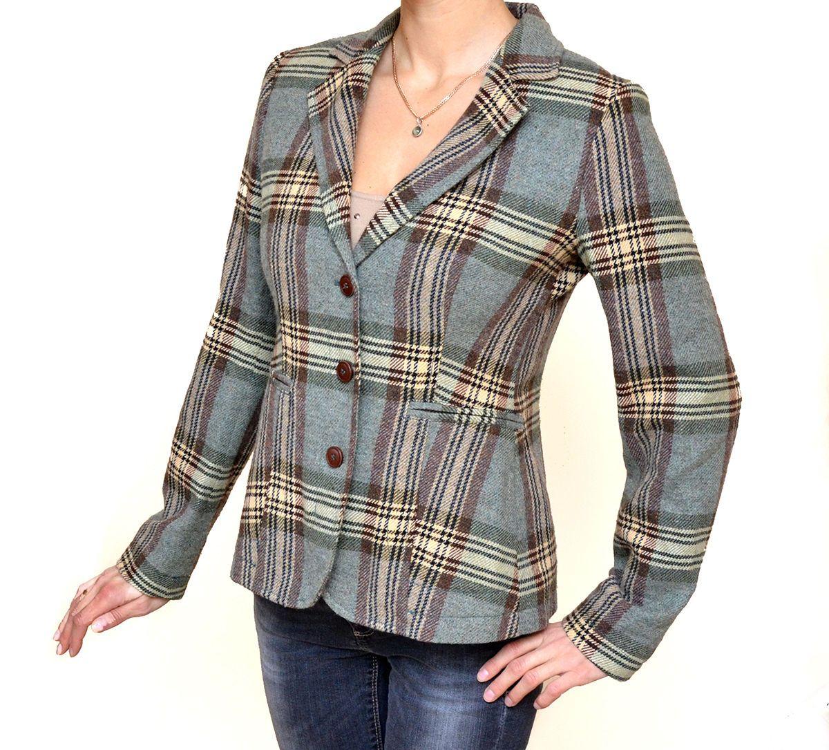Auth Women's ETRO Multi Color Wool Jacket Blazer 44 US 8   eBay