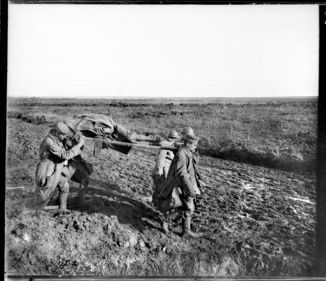 25 de octubre de 1917. Fotografía tomada el día siguiente a la ofensiva francesa de la Malmaison, Francia