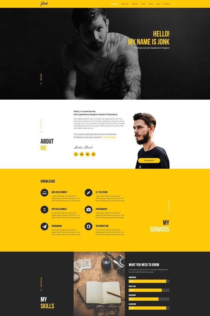graphic designer resume website , grafikdesigner