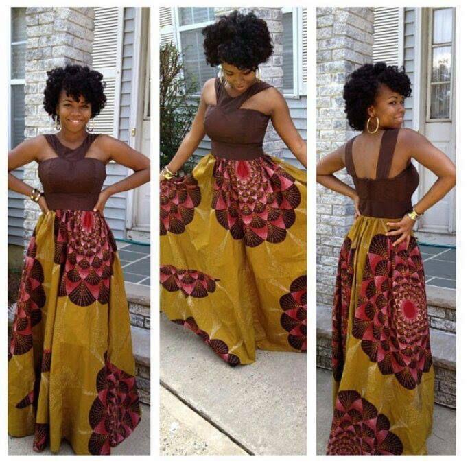 Robe Africaine, Modele De