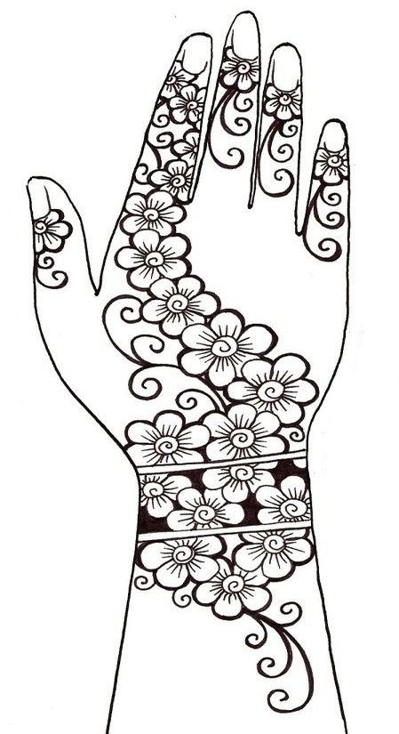 Henna tattoo | Doodle a Zentangle | Pinterest | Steinmalerei, Tattoo ...